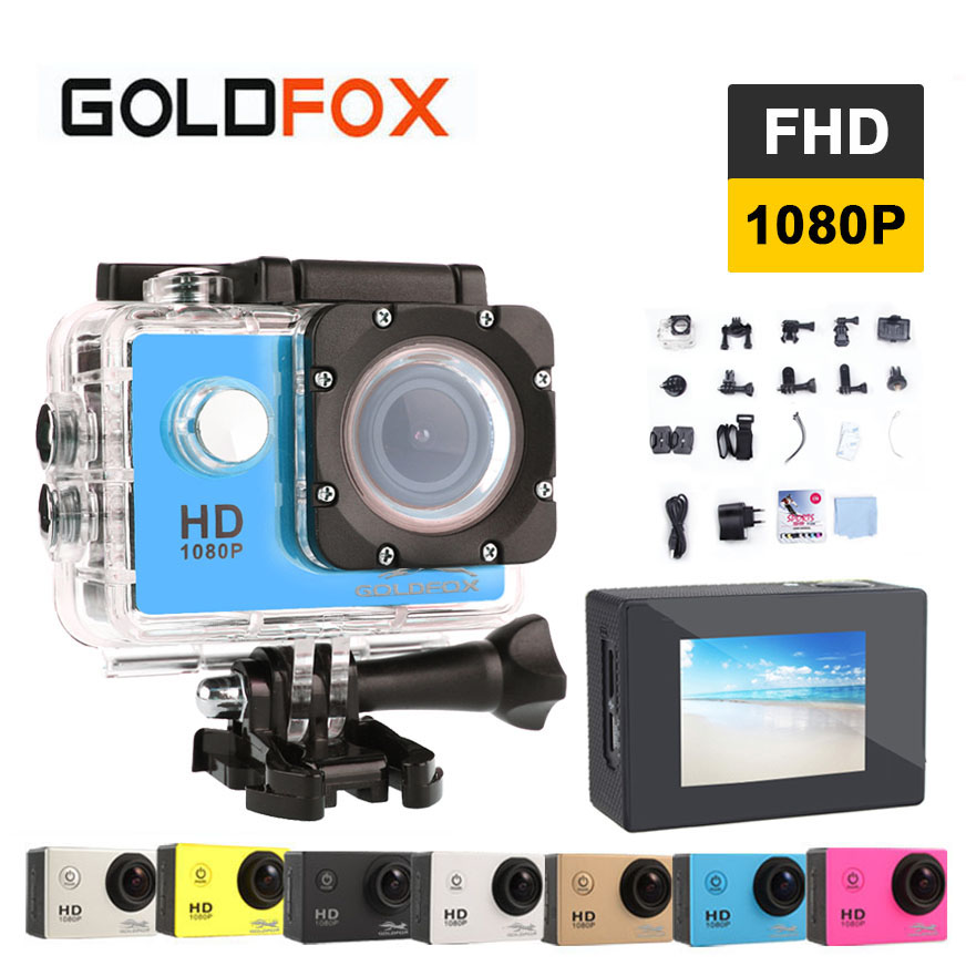 Goldfox Outdoor Action Mini Camera A9 1080P Full HD Sport DV cameras deportivas waterproof Mini Camcorders Bike Car Video Camera