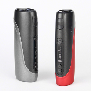 Image 2 - Electronic Cigarette Pluscig P3 Heat Vape Box Kits 2150mAh 30 Smoke Metal Body LED Screen Operation Automatic cleaning A+++