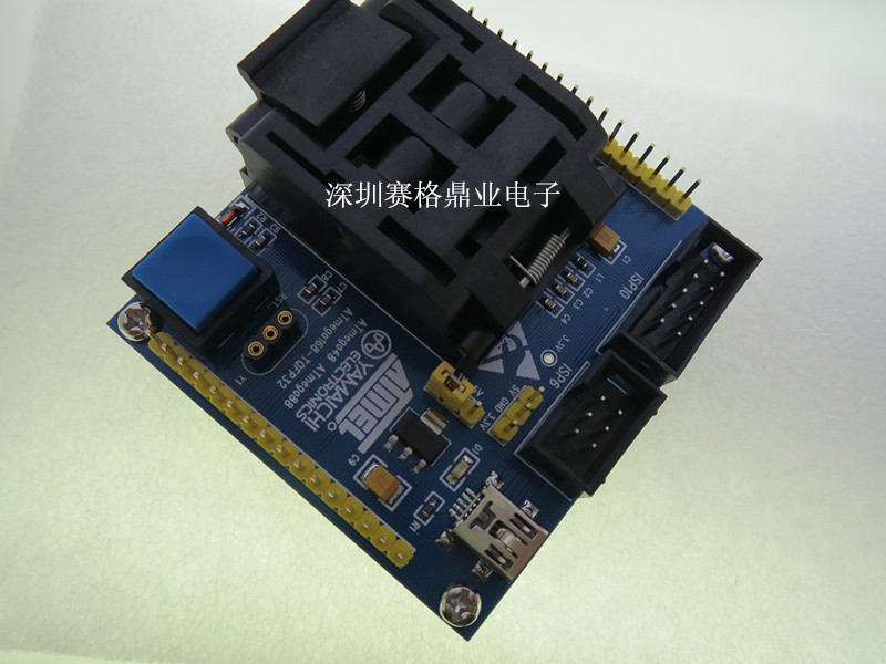 Image 5 - IC51 0324 1488 QFP32 TQFP32 ATmega8 IC testing seat  test bench Test Socket Programming Socket Burn in Socket New&Original-in Integrated Circuits from Electronic Components & Supplies