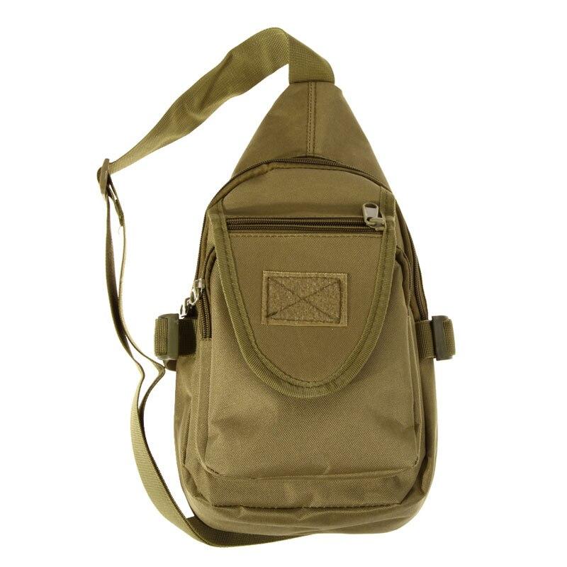 1120cf3acc5d Для мужчин рюкзак нейлон грудь Back Pack Молл Тактические Велоспорт Рыбалка  capming Охота Спортивные сумки через плечо камуфляж сумка