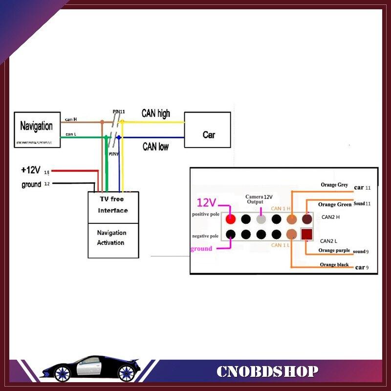 NEWEST For BMW CIC Plug and Play retrofit emulator VIN E90 E60 X5 X6 ...