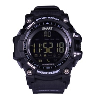 Bluetooth Clock Smart Watch Notification Remote Control Pedometer Outdoor Sport Watch IP67 Waterproof Men's Wristwatch