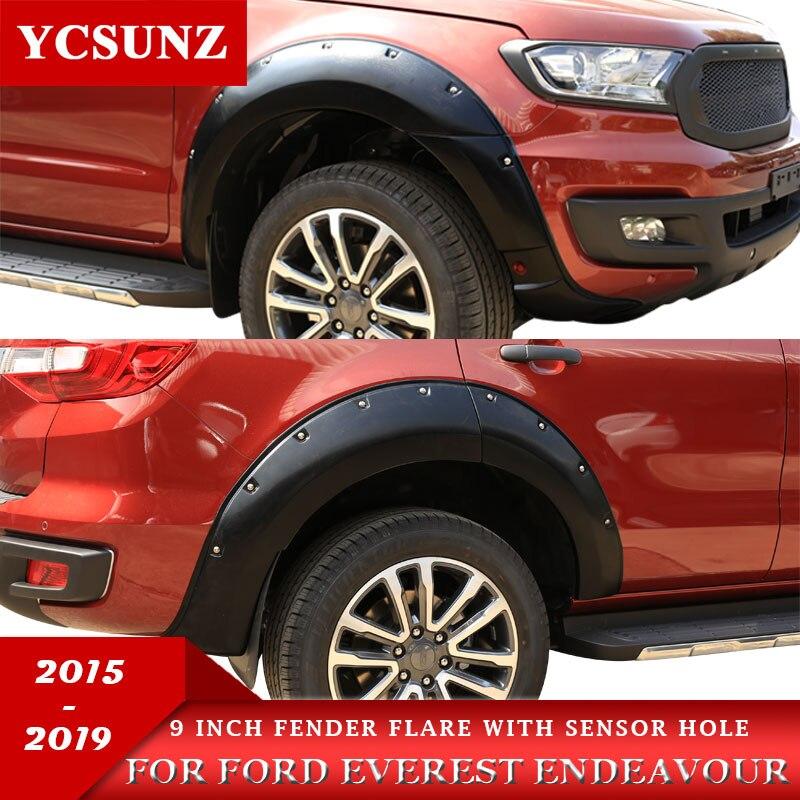 "Fender Flares Wheel Nuts Matte Black 9/"" Fit Toyota Hilux Revo 4 Door 2015-2017"