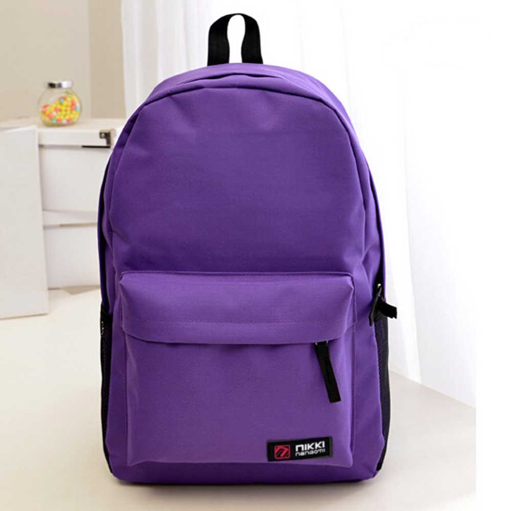 Student Backpack Oxford School-Shoulder Unisex Women Fashion Hot-Sale New Solid
