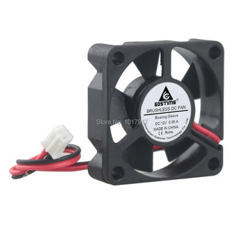 100pieces lot Gdstime DC 12V 2wire 2Pin 3cm 35mm 35x35x10mm 3510 Cooling Motor Radiator Fan