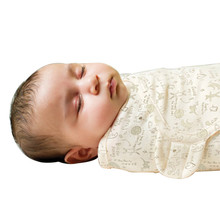 Baby Swaddle Wrap Envelope for Newborns 100% Cotton Sleeping Bag For 0-3 Month Baby For Summer Blanket Swaddling 50X73X39cm