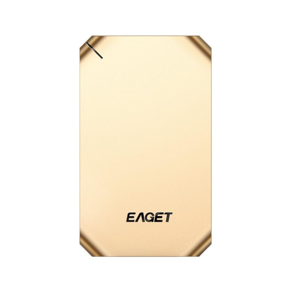 EAGET G60 External Hard Drive 500GB 1TB High Speed USB 3.0 Hard Disk Shockproof Encryption Mobile HDD For Desktop Laptop