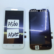 A505e LCD Display+Touch Screen Panel Digitizer Accessories For Lenovo A560 Smartphone Black&White Free Shipping+Track Number