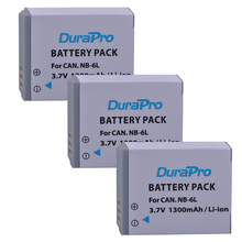 3Pcs NB-6L NB 6L NB-6LH Digital Li-ion Battery for Canon PowerShot SX520 HS SX530 SX600 SX610 SX700 SX710 IXUS 85 95 200 210 105