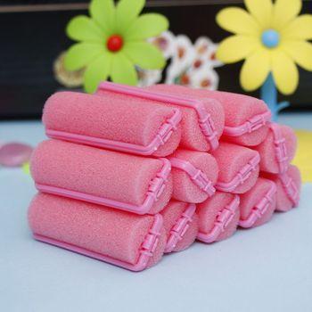 12 Pcs Hair Curler Magic Sponge Foam Cushion Hair Styling Rollers Curler Twist Tool Hot Sale DIY Hair Salon Styling Tools
