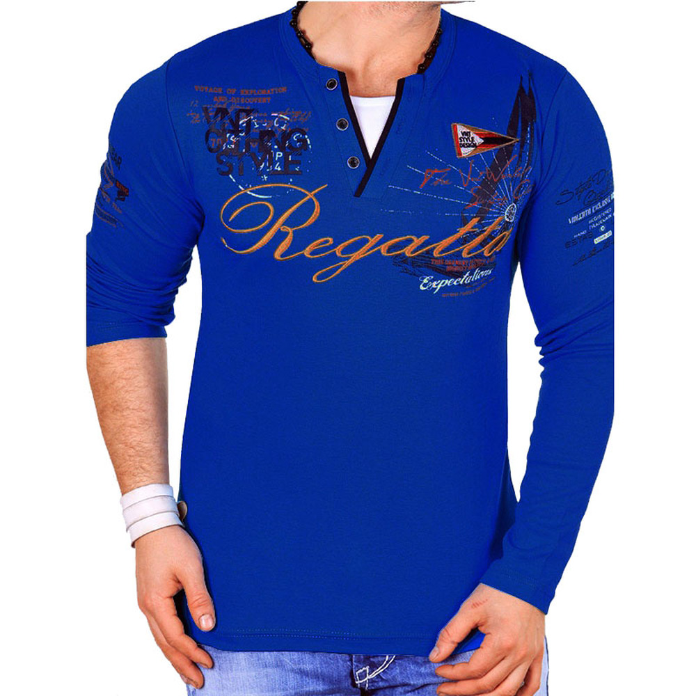 Image 4 - ZOGAA Brand Casual Polos Men 2019 Fashions Printed Sweat Shirt Slim Fit Long Sleeve Polo Shirts for Man Clothing Top Tees-in Polo from Men's Clothing
