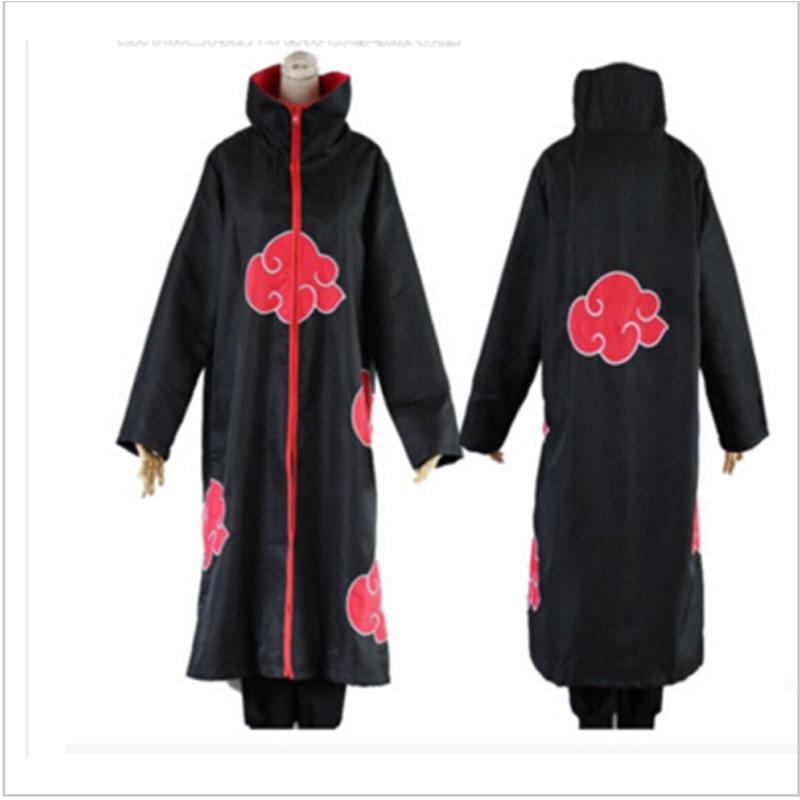 Anime font b Naruto b font Cloak Costume Akatsuki Uchiha Itachi font b Cosplay b font