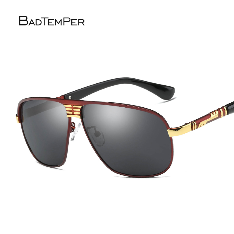 Badtemper Aluminum Brand New Polarized Sunglasses Black Men Fashion Sun Glasses Travel Driving Male Eyewear Oculos Gafas De So