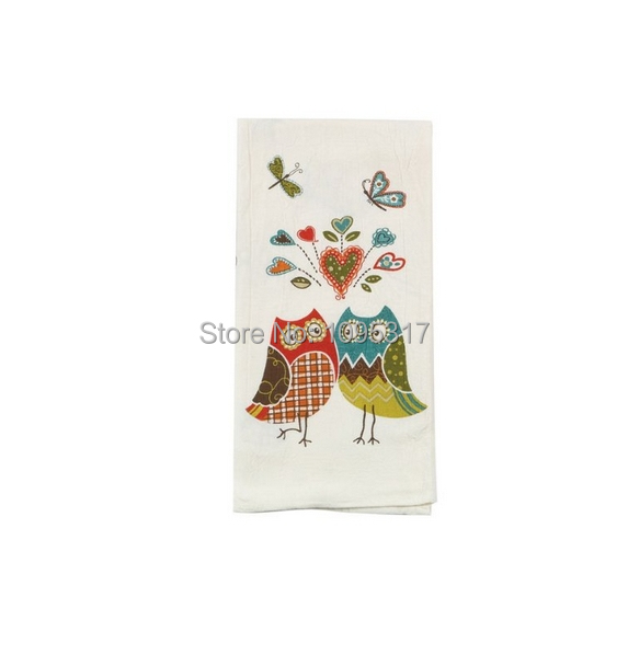 Owl Wonderful Kitchen Flour Sack Towel By Kay Dee Designs