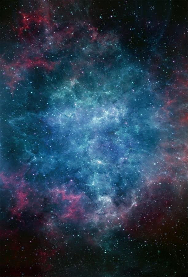Laeacco Fantasy Outspace Universe Nebula Starry