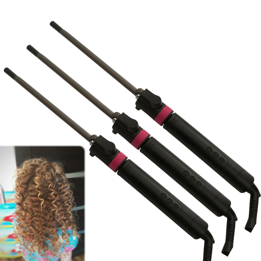 Professional Hair Salon Ceramic coating curling iron temperature adjustment Wand curler curling irons hair curler styling tools