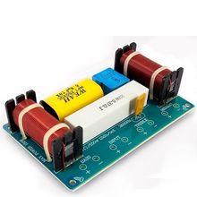 2 pces 120 w 3 vias orador divisor de freqüência altifalante crossover filtro circuito para caixa de altifalante