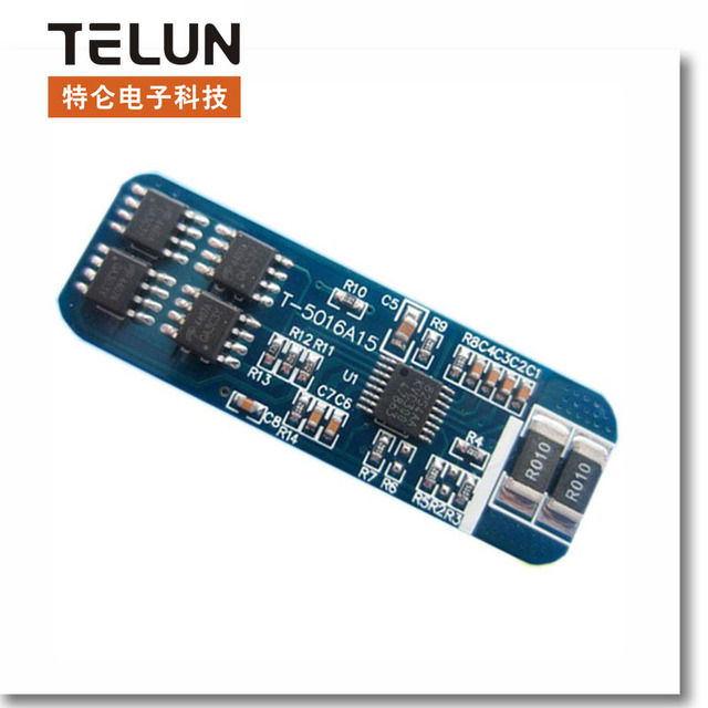 4S 4 series 8A Current 3.7V*4=14.8V 18650 Lithium battery protection board  protection module