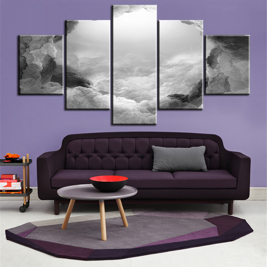 Online Get Cheap Paintings for Living Room Wall Grey -Aliexpress ...