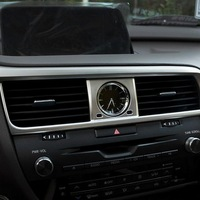 1 PCS Car Styling DIY ABS Dashboard Center Air Vent Sticker Cover Case Stickers For Lexus