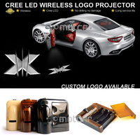 Universal Fit Auto Car Door Step Ground CREE LED Welcome Laser Projector X Men Logo Ghost