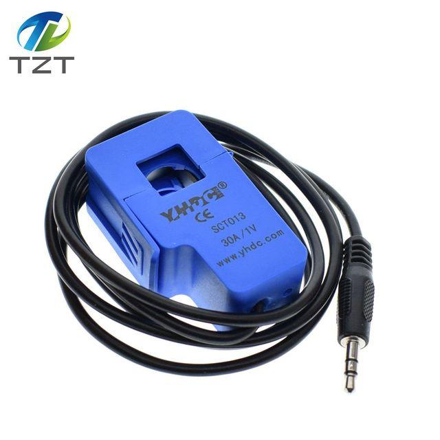 5Pcsยี่ห้อใหม่คุณภาพสูง30A SCT 013 030 Non Invasive AC Current Sensorหม้อแปลง