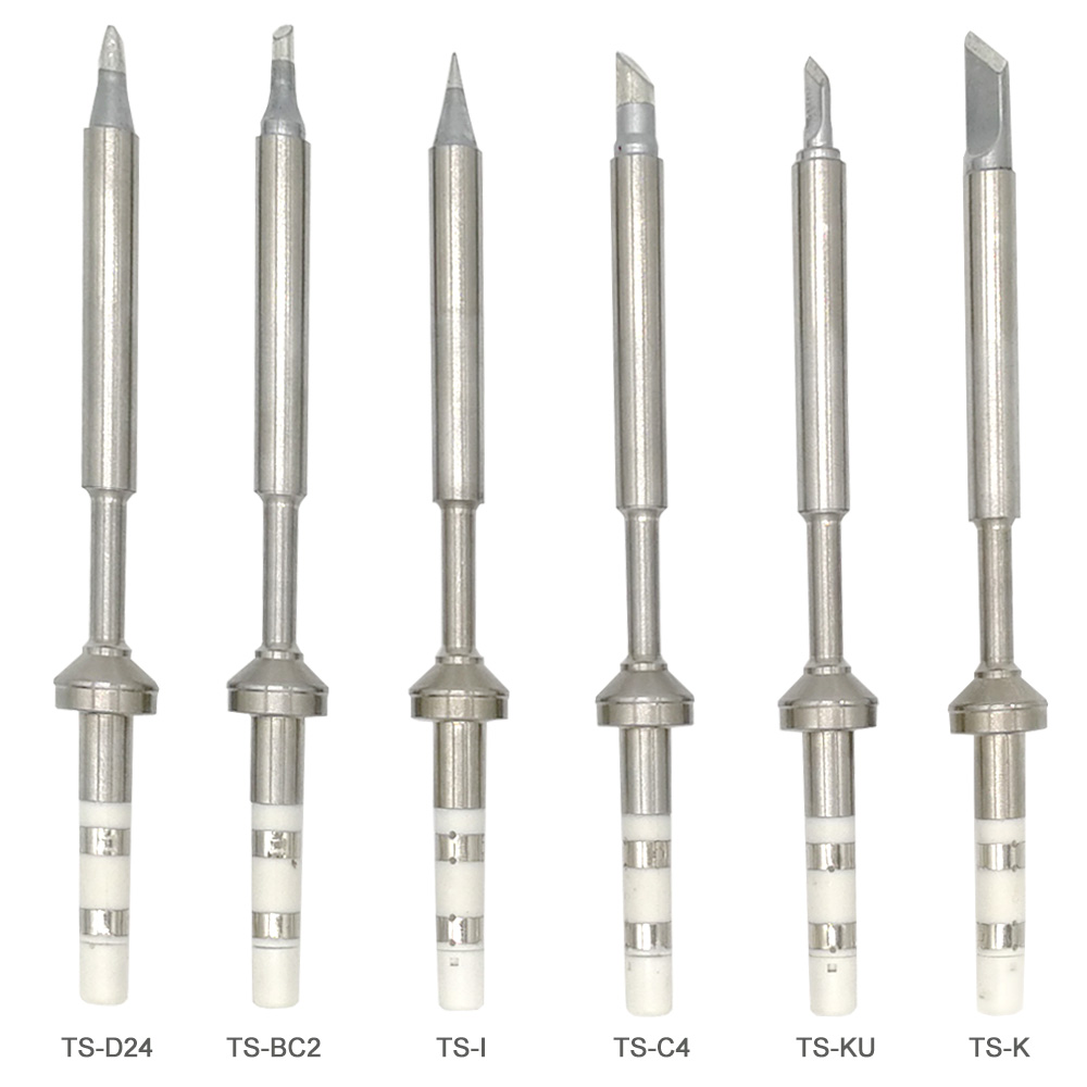 2018 Quicko TS Soldering Iron tips for TS100 MINI solder station Lead Free Electric Soldering Iron Tip K/KU/D24/BC2/C4/B2/I