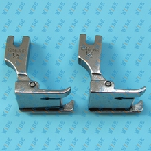 Hinged Right Raising Presser Foot With Guide for Top-Stitch #12463H 1/2 (2PCS)