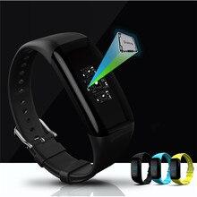 Высокое качество модные IP68 наручные часы-пульсометр браслет фитнес Смарт браслет Бесплатная доставка nom05