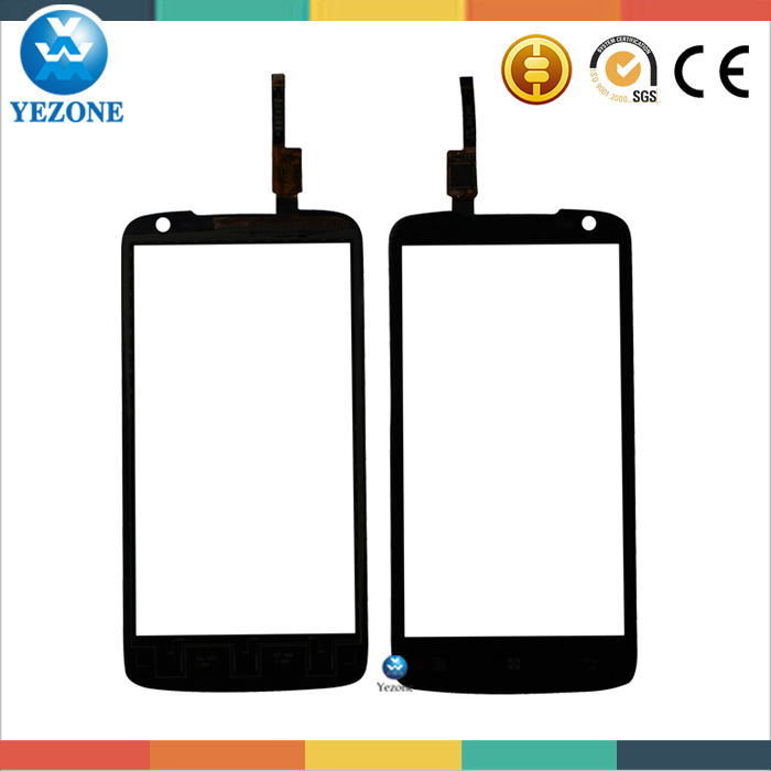 4.7 inch Original Touch screen Digitizer Front Glass Replacement For Lenovo S820 Touch Screen Panel Repair Black Free Tools