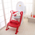 Baby cute dog baby kids children infant ladder potty plastic portable toilet ladder with step