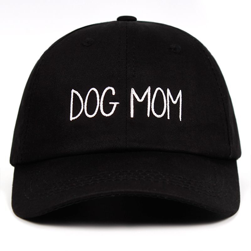 Dog Mom Nurse Embroidered Dad Hat Customized Handmade Mothers Day Pregnant   Baseball     Cap   Bunny daughter Fashion Curved Daddy hat