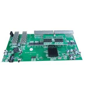 Image 3 - Commutateur PoE inverse 8x10 M/100 M/1000 M Port et 2 SFP Gigabit Ethernet commutateur carte mère PCB