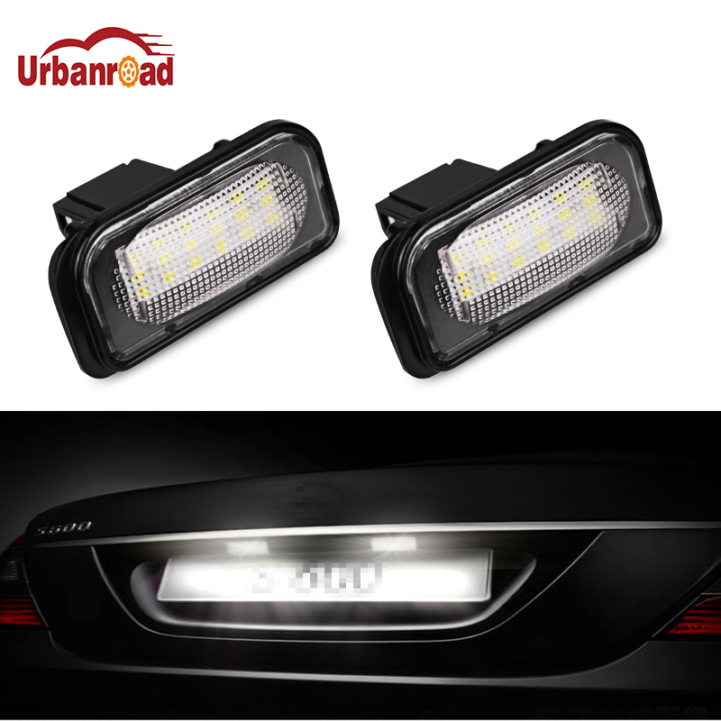 detail feedback questions about urbanroad 2pcs 12v 6000k car leddetail feedback questions about urbanroad 2pcs 12v 6000k car led license plate lights for mercedes w203 4d led number plate lamp bulb kit for benz
