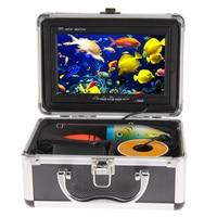 30M Professional Fish Finder Underwater Fishing Video Camera 7 Color HD Monitor Night vision 1000TVL HD CAM W/Sunvisor