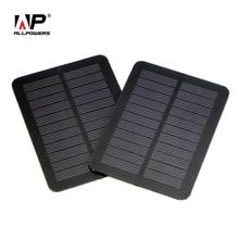 ALLPOWERS 6V 1W Mini Monocrystalline Solar Panel Small DIY PET Solar Panel Power Portable Outdoor Charger