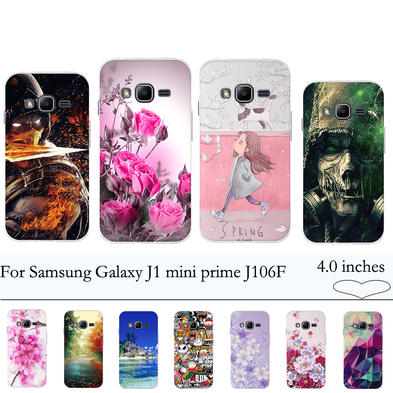 Soft Tpu Silicon Case For Samsung Galaxy J1 Mini Prime J106f V2 Cover Funda Back Case Cover For Samsung J1 Mini Prime J106 Coque A19