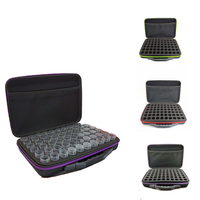 60 Bottles Diamond storage box New Diamond embroidery diamond painting tool Drill Storage Hand bag Zipper Design