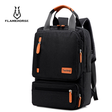Anti-theft Men's Nylon Backpacks 15.6 inch Laptop Backpack Male Leisure Travel Rucksack Black Women School Bags Mochila Feminina 2017 aou brand men laptop backpack multifunction travel backpacks waterproof nylon black school bags for boys rucksack mochila
