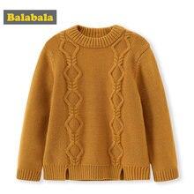 46ac7a2eed477 Balabala enfants pull mode enfants hiver tricoté cardigans chandail pour  filles garçons épais chaud pull vêtements