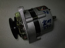 Laidong KAMA KM390BT for tractor like Luzhong, the alternator, part number: