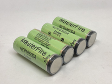 MasterFire 20pcs/lot New Original 3.6V NCR18500A 2000mah Li-Ion Battery Rechargeable Protected Batteries with PCB For Panasonic