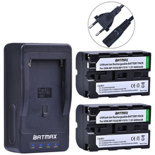 2PCS NP-F550 NP-F570 NP F550 F330 F570 Battery&Rapid Charger For Sony CCD-TR910 CCD-TR917 CCD-TRV110K DCR-TRV120 DCR-TRV130