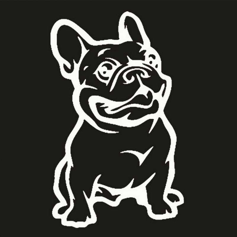 Fashion French Bulldog Dog Car Sticker PET Cars Decal Weatherproof - Decal stickers for cars