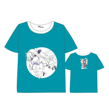 Azur Lane T-shirt Men Women Short Sleeve Summer dress Cosplay Costumes Game Characters  The unicorn Tops Unisex t shirt