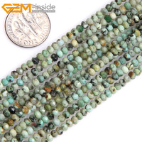 Gem Inside AAA Natural Heishi Rondelle Disc Spacer Beads Beads Africa Turquoise Stone Beads For Jewelry