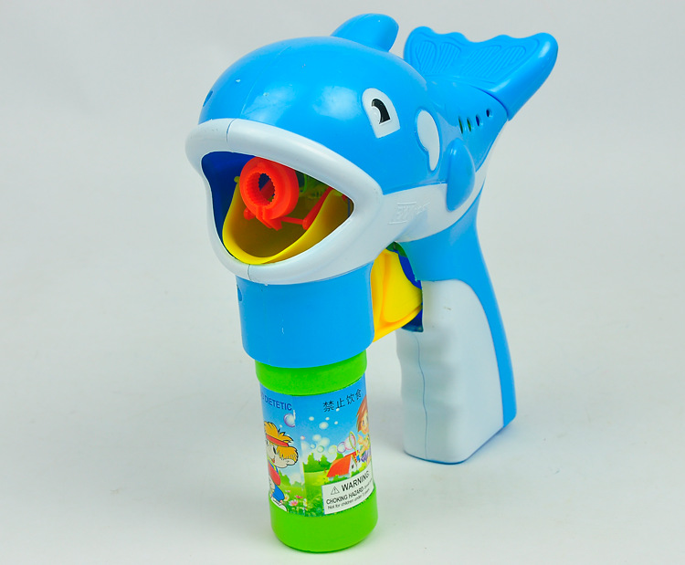 ZXZ 1 pc Gun Soap Bubble Blower Outdoor Kids Child Toys