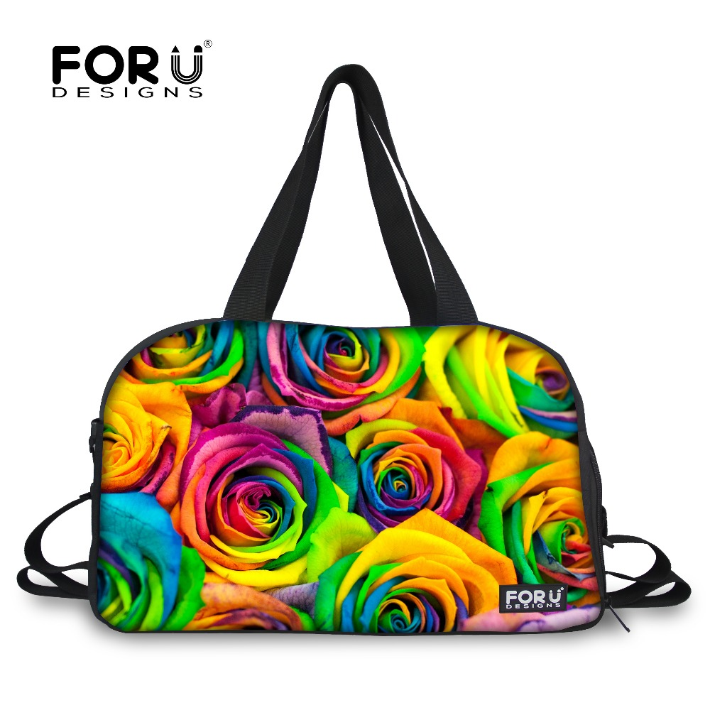 Forudesigns Canvas Sports Bag Training Gym Men Women Fitness Bags Durable Multifunction Handbag Outdoor Sporting Tole For Female