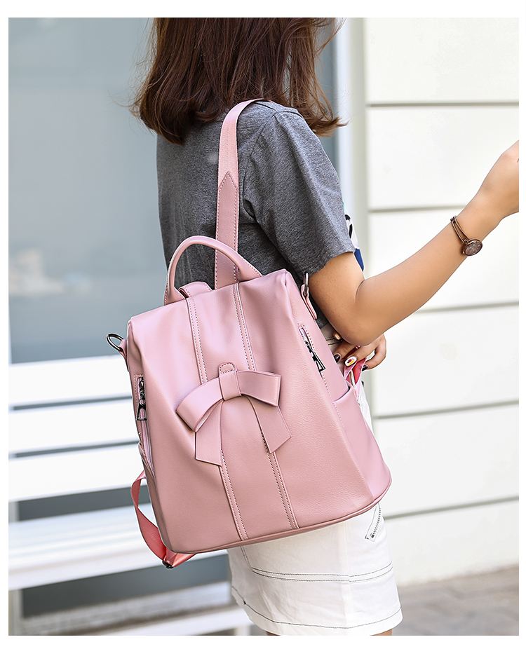 HTB1S 6UUQvoK1RjSZFwq6AiCFXaj - Leisure Women Backpack High Quality Leather Lady Anti Theft Shoulder Bags Lovely Girls School Bags Women Traveling Backpack