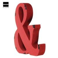 Craft Alphabet Letter Plaque Sign Wood Letters Name Home Wedding Decor DIY 180x25mm New Electric Unit